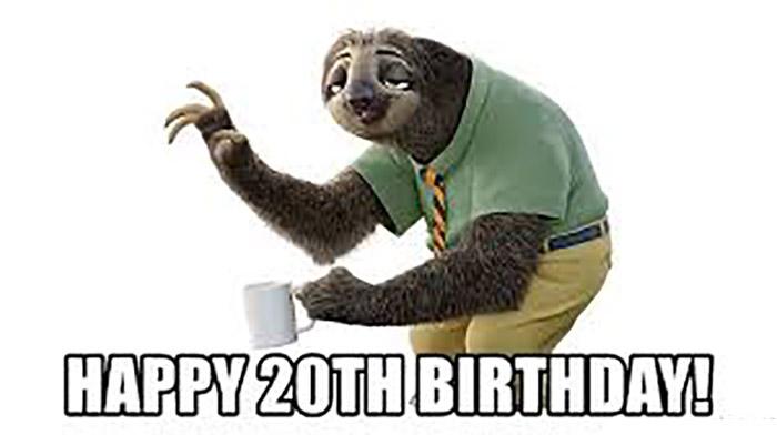 20th birthday meme hilarious