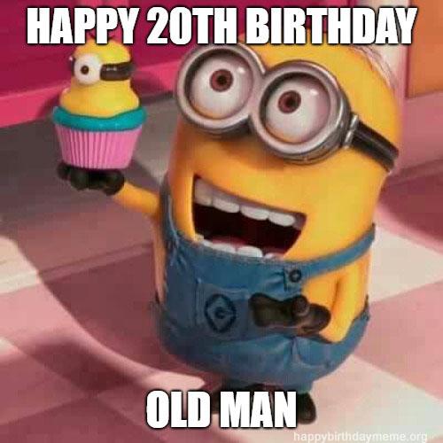 20th birthday meme nic cage