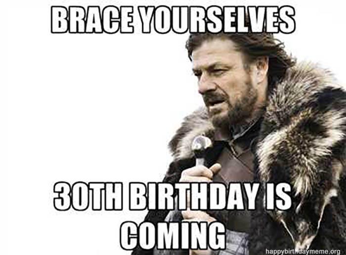 Happy Birthday Meme Birthday Elegant of 30th birthday meme for him