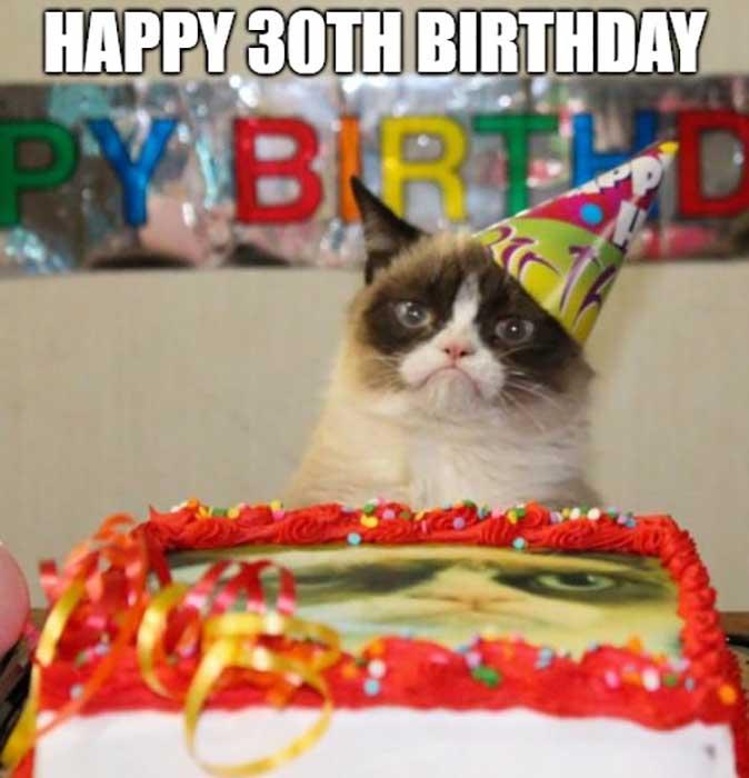 30th birthday meme funny happy
