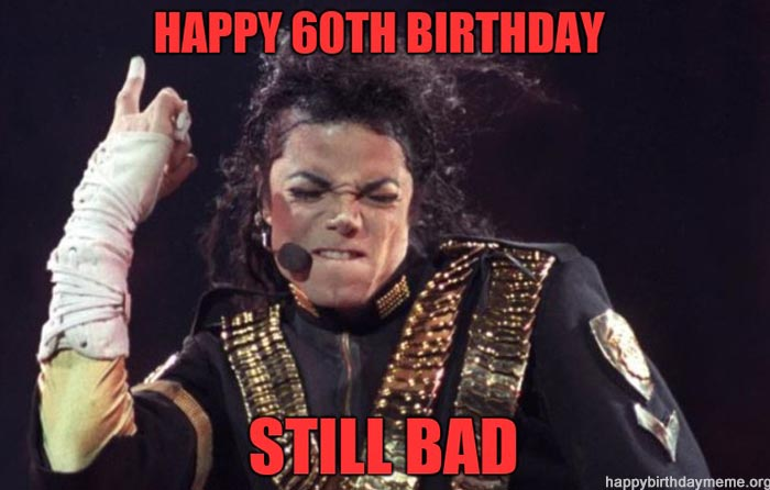 60th birthday meme