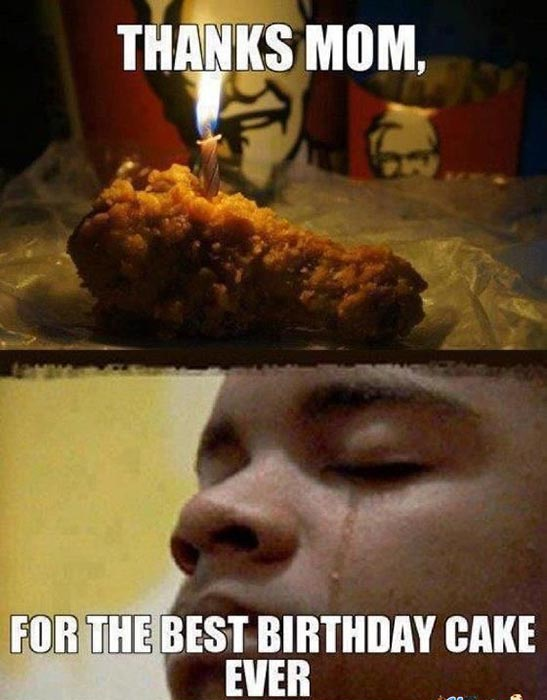 birthday-cake meme kfc