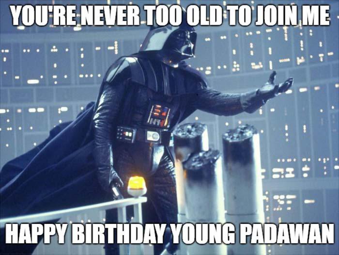 birthday star wars meme