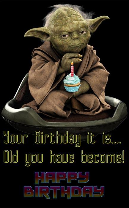 cool star wars birthday meme