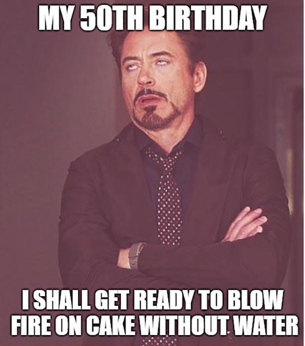 dad 50th birthday meme