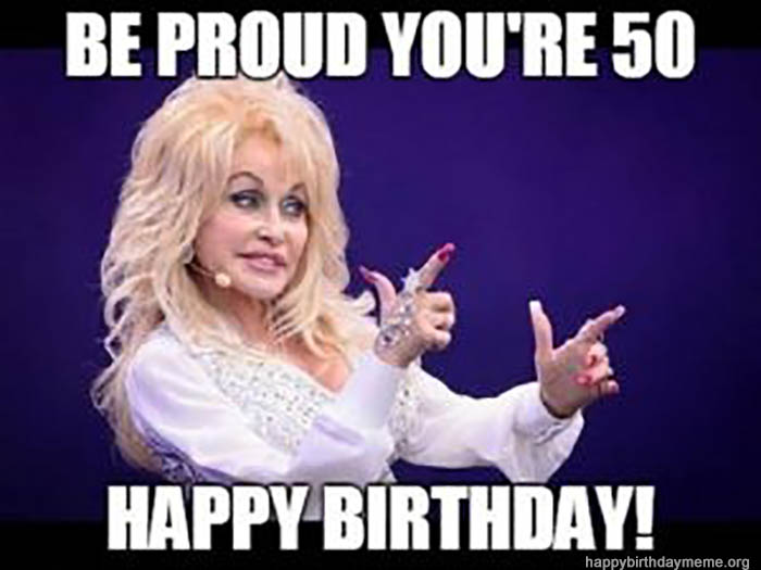 28 Awesome 50th Birthday Meme Birthday Meme