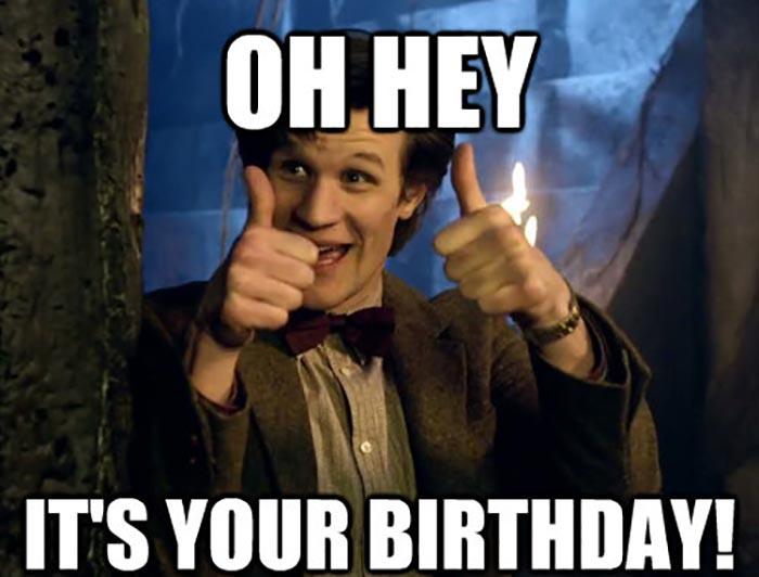 fantastic doctor who birthday meme