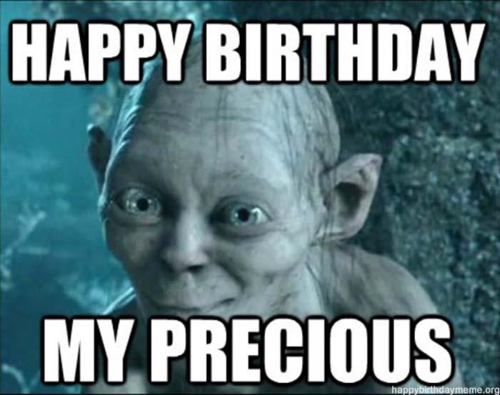 funnt-birthday-memes lord of ring precious