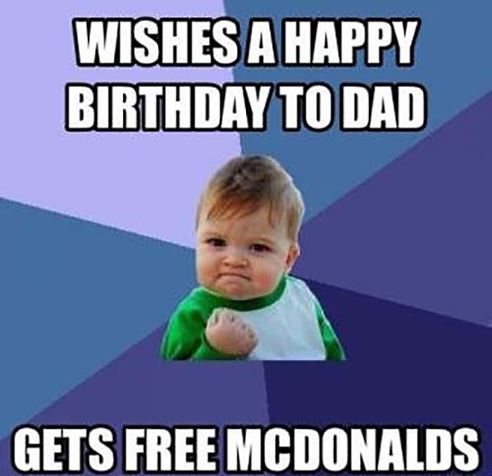 Coolest Drunk Dad Meme