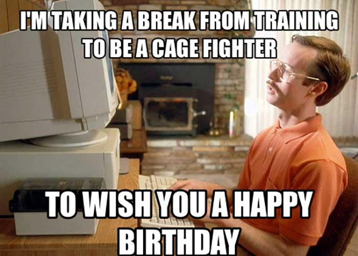 funny happy birthday wife meme