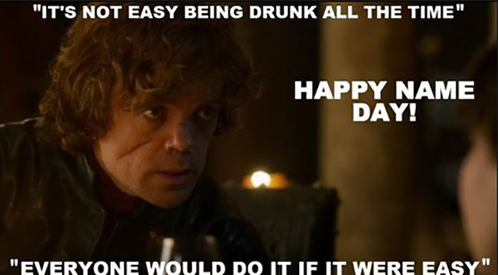 game of thrones birthday memes Tyrion Lannister