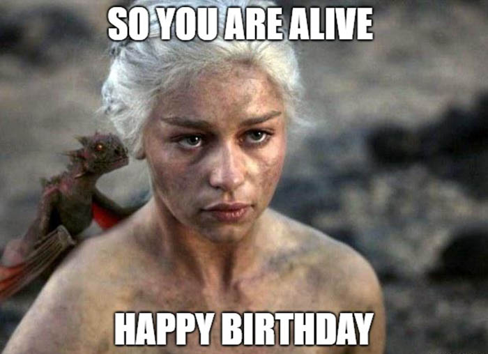 game of thrones birthday memes funny