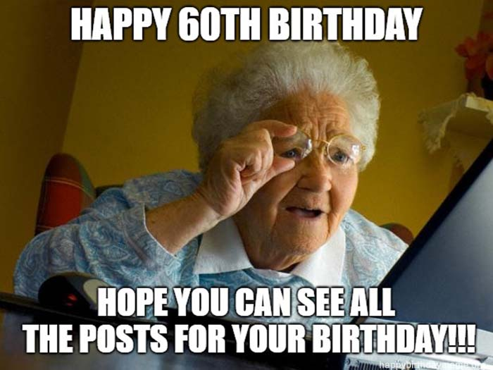 happy 60th birthday meme