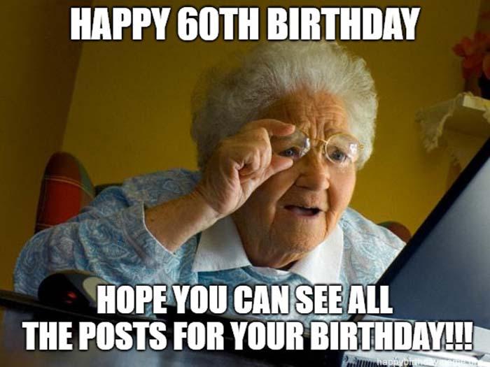 happy 60th birthday meme