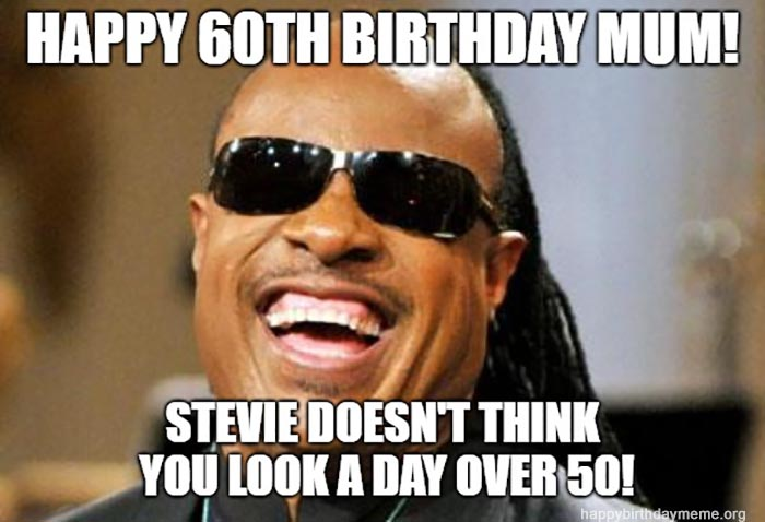 happy birthday 60th mom meme