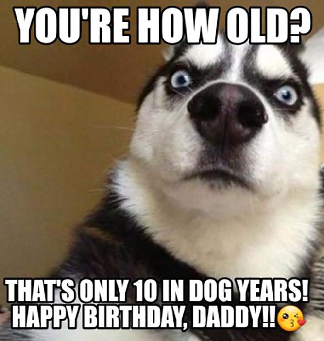 happy birthday dad meme from son 70 years old