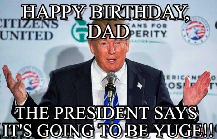 happy birthday dad meme funny