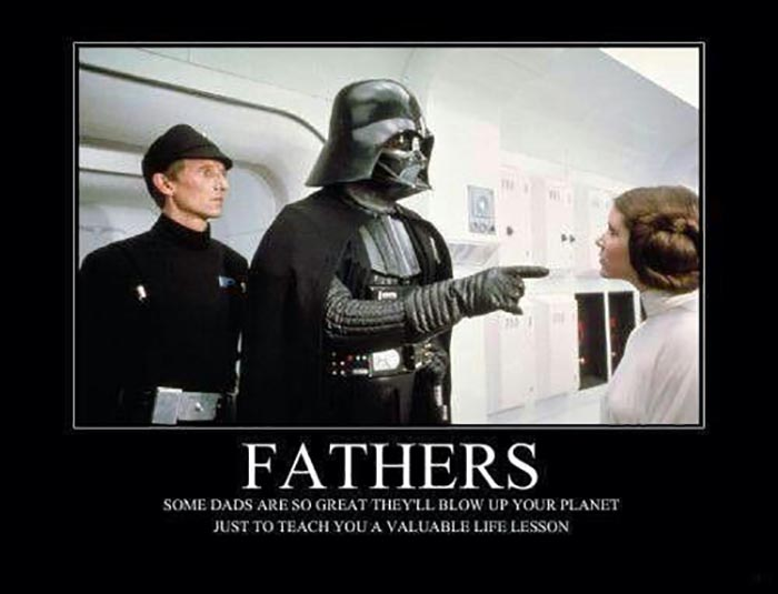 happy birthday dad meme star wars