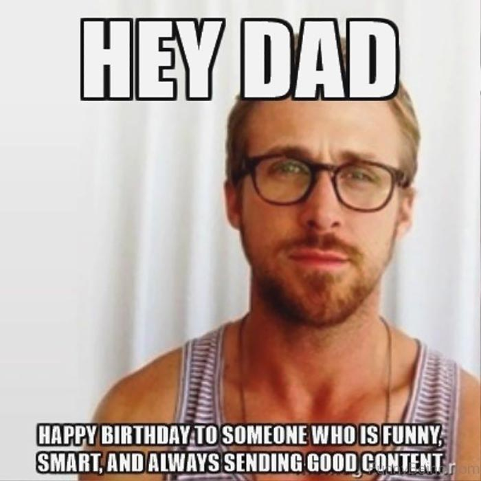 happy birthday dad meme wisdom
