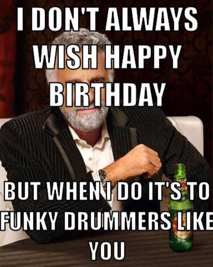 happy birthday husband meme funny