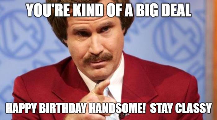 happy birthday husband meme stay classy