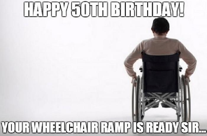 happy birthday meme 50th