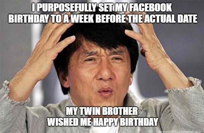 happy birthday meme brother Jackie Chan