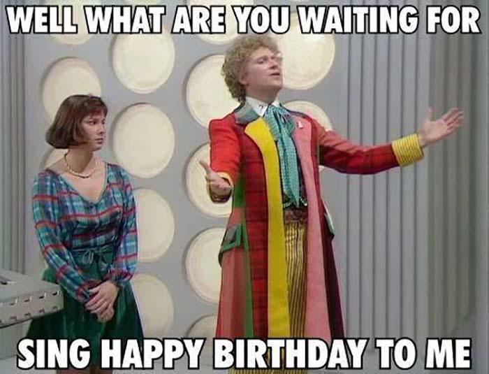 happy birthday meme doctor who