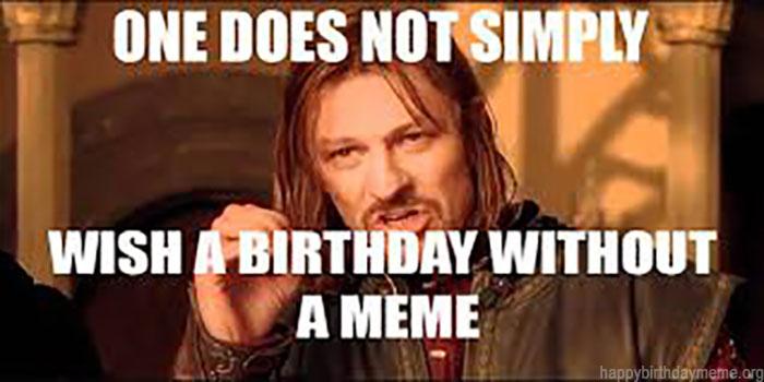 happy birthday meme for him