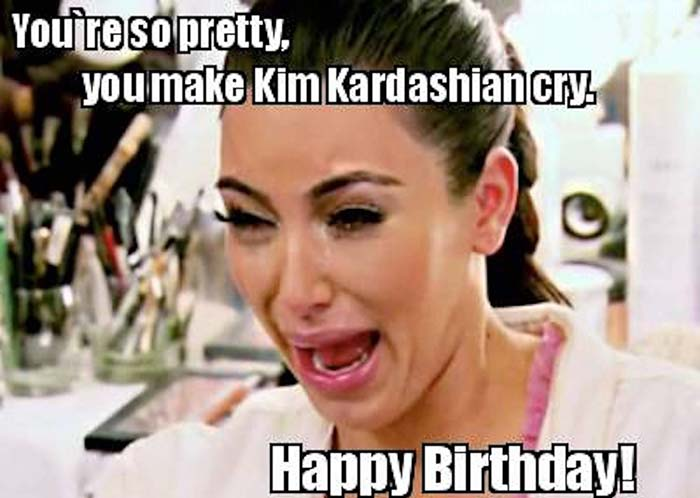 happy birthday meme kardashian