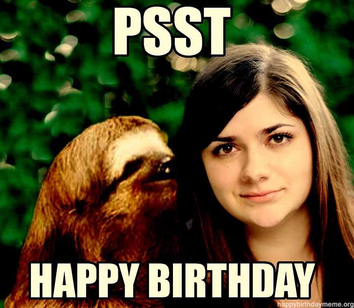 happy birthday meme sister psss
