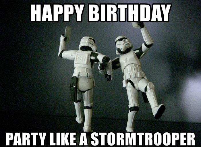 🎂 28 Awesome Star Wars Happy Birthday Meme - Birthday Meme