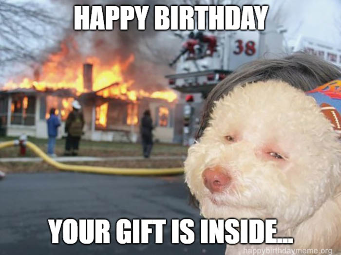 happy birthday your gift is inside