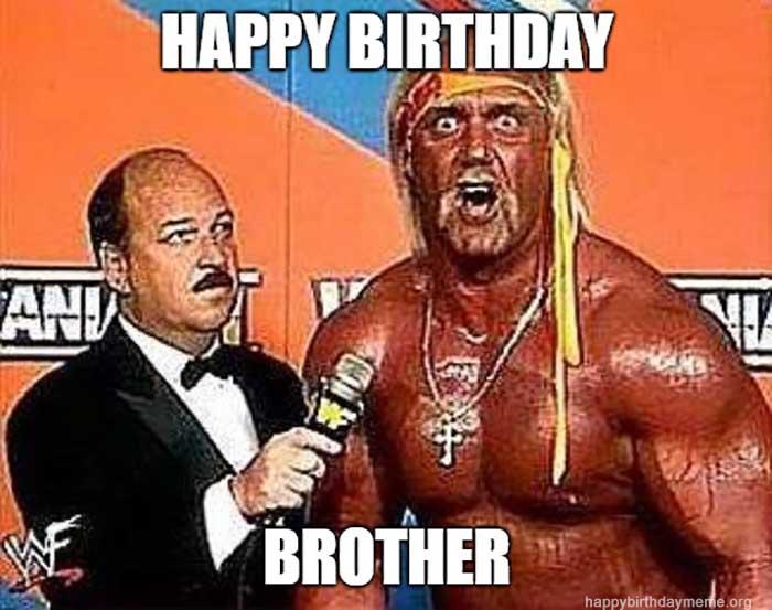 hulk hogan happy birthday meme