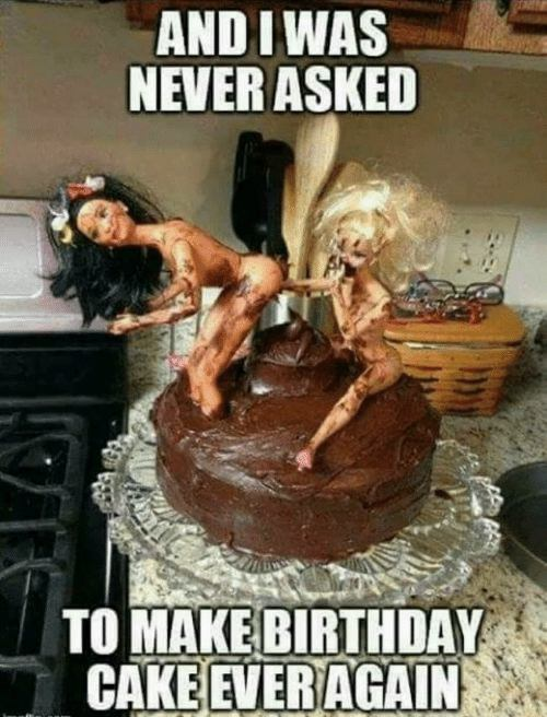 memes birthday cake funny nerver ask me again