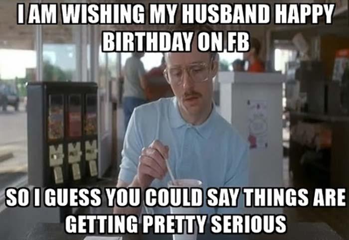 Hubby Happy Birthday Husband Meme - slidesharedocs