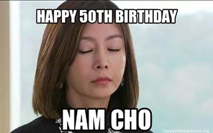 New Star Wars Happy Birthday Quotes happy 50th birthday meme