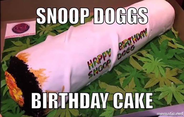 snoop dogg birthday cake meme