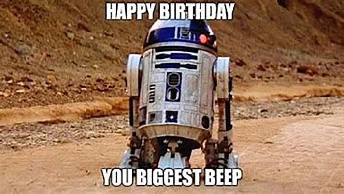 star wars birthday meme funny
