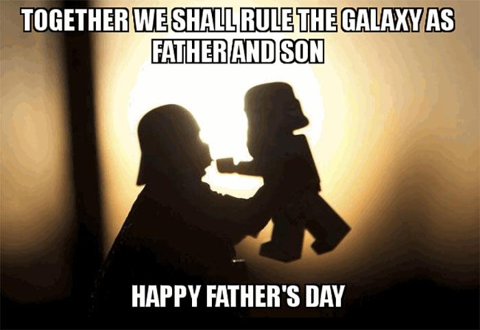 star wars dad birthday meme