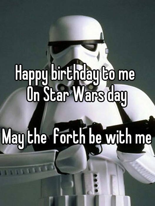 star wars funny happy birthday meme