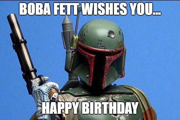 star wars happy birthday meme boba fett