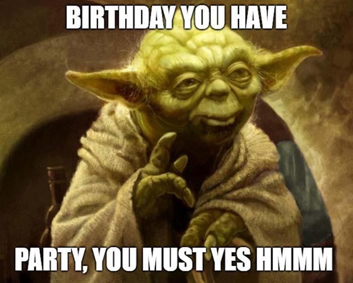 star wars yoda happy birthday meme