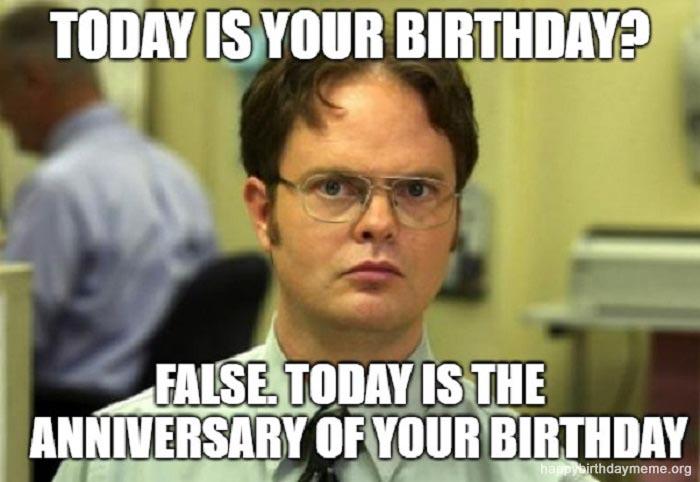 21 Funniest The Office Birthday Meme Happy