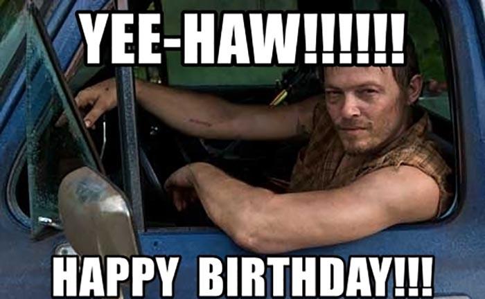 yee-haw-happy-birthday walking dead meme