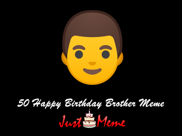 50 Happy Birthday Brother Meme