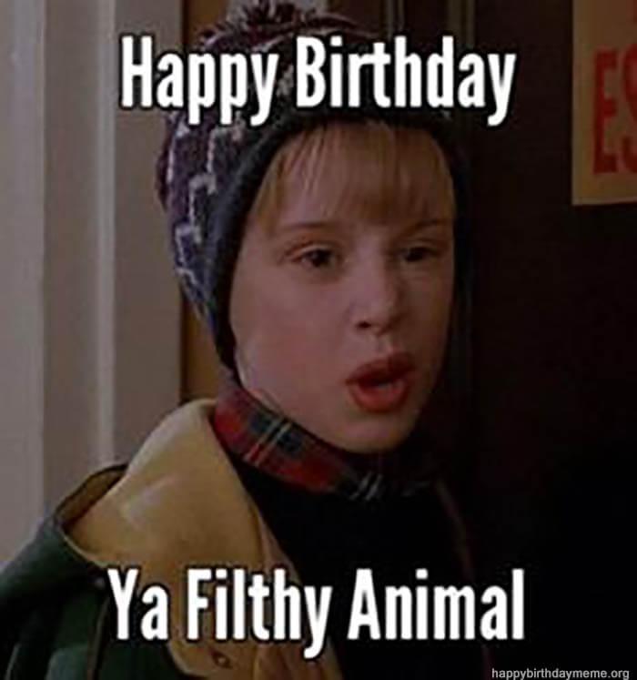 funny happy birthday dad memes