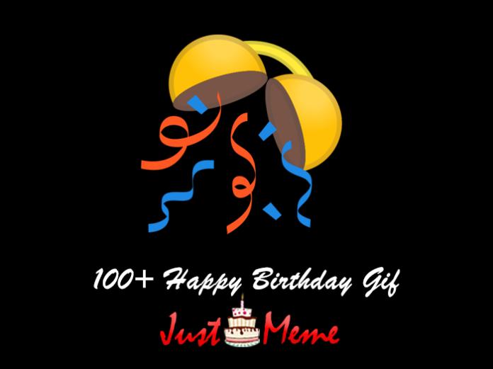 100+ Happy Birthday Gif