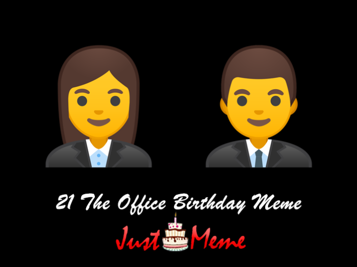 21 The Office Birthday Meme