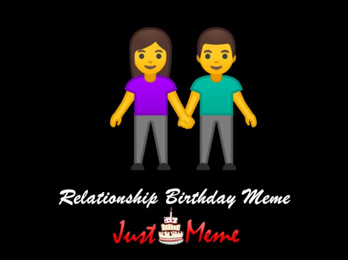 Relationship Birthday Meme